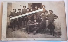1914 Infanterie Alpine 158 Eme Régiment Le Jus Alpes Bérêts Tartes Tranchée Poilus 1914 1918 WW1 - War, Military