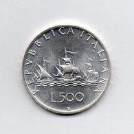 """ITALIA - 1981 - 500 Lire """"Caravelle"""" - Argento 835 - Peso 11 Grammi - Da Serie Zecca - (MW2148) - 1946-… : Repubblica"""