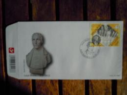 OCB Nr 3879 Louis Braille    Stempel Fleurus - FDC
