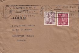 ESPERANTO  -  Lettre De ESPAGNE - Esperanto