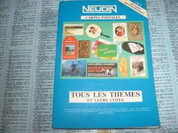 CATALOGUE NEUDIN CARTES POSTALES LES THEMES 1998 - Books