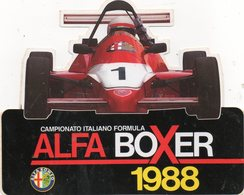 Autocollant CHAMPIONNAT D'ITALIE F1 - Aufkleber