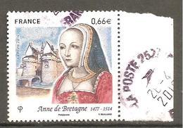 FRANCE 2014  Y T N ° 4834  Oblitéré Cachet Rond - France