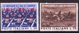 Italie - Italy - Italien 1964 Y&T N°904 à 905 - Michel N°1161 à 1162 *** - Coprs Des Carabiniers - 6. 1946-.. Republik