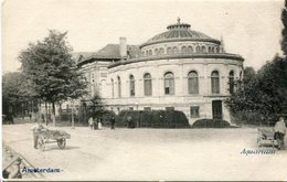 AMSTERDAM - AQUARIUM. NETHERLANDS POSTAL CPA CIRCA 1900's NOT USED -LILHU - Amsterdam