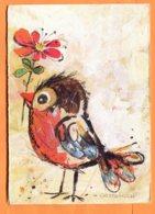 FR624, Dessin Oiseau, Bird, Illustrateur Gottschlich, GF, Circulée Sous Enveloppe - Vogels