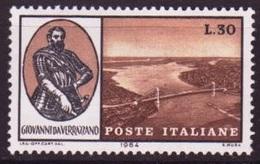 Italie - Italy - Italien 1964 Y&T N°914 - Michel N°1171 *** - 30l Pont Verrazano - 6. 1946-.. Republik