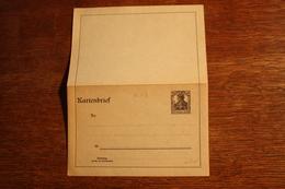 ( 2668 ) Ganzsachen  Deutsches Reich  Kartenbrief K 17  * -  Erhaltung Siehe Bild - Stamped Stationery
