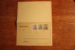 ( 2669 ) Ganzsachen  Deutsches Reich  Kartenbrief K 17  * -  Erhaltung Siehe Bild - Stamped Stationery
