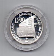 Italia - 1993 - 500 Lire  - PROOF - 650° Anniversario Fondazione Università Di Pisa - Argento 835 - In Capsula- (MW2152) - 1946-… : Repubblica