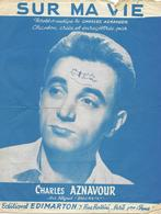 Sur Ma Vie - Charles Aznavour,  1955 - Non Classés