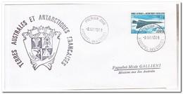 Frans Antarctica 1969, FDC, Concorde - FDC