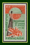 Polynésie N° PA 16 ** MNH (cote 23,50 Euros) Liaison Radio - Airmail
