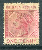 Grenada 1883 QV - 1d Carmine Used (SG 31) - Grenada (...-1974)