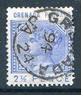 Grenada 1883 QV - 2½d Ultramarine Used (SG 32) - Grenada (...-1974)