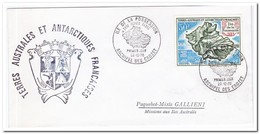 Frans Antarctica 1970,-1971 FDC, Possession Island And Island Group For Adelieland - FDC