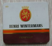 AC - HENRI WINTERMANS CIGARS TOBACCO EMPTY VINTAGE TIN BOX - Empty Tobacco Boxes