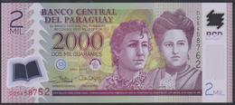 Paraguay 2000 Guaranies 2017 P228d UNC - Paraguay