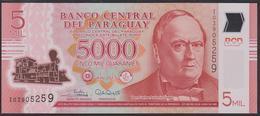 Paraguay 5000 Guaranies 2017 P234c UNC - Paraguay