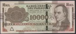 Paraguay 10000 Guaranies 2017 P224g UNC - Paraguay