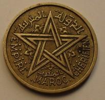 1945 - Maroc - Morocco - 1364 - 1 FRANC, Empire Chérifien, Mohammed V, Y 41 - Morocco