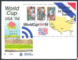 USA 1994 Cover: Fussball Football Soccer: FIFA World Cup 1994 Weltmeisterschaft Mundial; Rose Bowl; - World Cup