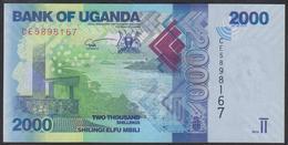 Uganda 2000 Shillings 2019 P50e UNC - Uganda