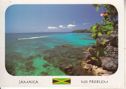 JAMAÏQUE Avec Timbre De BOB MARLAY - Jamaïque