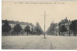 CPA NORD LILLE Place Cormontaigne Et Boulevard Bigo-Danel édit PL N°152 - Lille