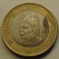 1995 - Maroc - Morocco - 1415 - 10 DIRHAM, Hassan II, 4è Effigie, Y 92 - Marokko