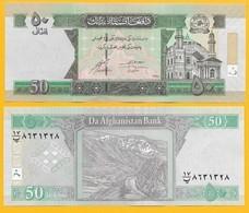 Afghanistan 50 Afghanis P-69 2016 UNC Banknote - Afghanistan