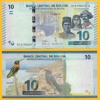 Bolivia 10 Bolivianos P-new 2018 UNC - Bolivia