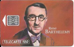 CARTE-PUBLIC-120U-F343-SC5--04/93-BARTHELEMY FIGURE 4-V° 5 Ge 45478-Utilisé-TBE- - France