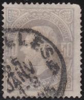 Belgie    .    OBP   .   35     .   O   .    Gebruikt    .  / .    Oblitéré - 1869-1883 Leopold II