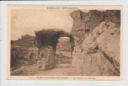 SAINT GUILHEM LE DESERT - HERAULT - LES RUINES DU PORTALET - Autres Communes