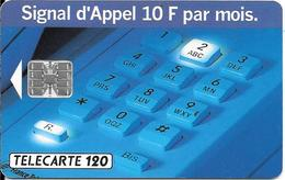 CARTE-PUBLIC-1993-F 365A-120U-SC7-SIGNAL D APPEL 3-N°RGE C35141²546 UTILISEE-TBE- - France