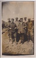 CARTE PHOTO : SYRIE - SOUVENIR DU CAMP D'EZRAA - REGIMENT - ARMEE DU LEVANT 1927 - FORCES ARMEES FRANCAISES - 2 SCANS - - Guerres - Autres