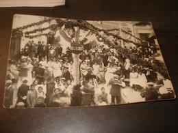 CAUDIES  CARTE PHOTO FETES D AOUT 1922 - Frankreich
