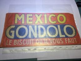 Calot Chapeau Publicitaire Papier MEXICO GONDOLO Biscuits - Publicités