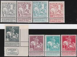 Belgie    .    OBP   .    84/91      .   **     .   Postfris     .  / .    Neuf SANS Charniere - 1910-1911 Caritas
