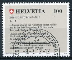 1422 / 2236 Sauber Mit ET-Stempel BERN 1 SCHANZENPOST - Usati
