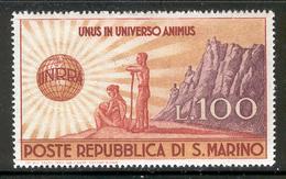 SAN MARINO 1946 UNRRA Scott Cat. No(s). 257 MH (b) - San Marino