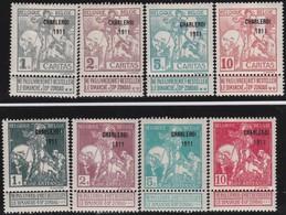 Belgie  .    OBP   .    100/107     .   *        .  Ongebruikt     .  / .    Neuf Avec  Charniere - 1910-1911 Caritas