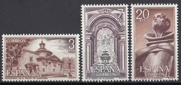 Spagna 1976 Sc. 2014/2016 San Pietro Di Alcantara Monastero Tomba Full Set MNH Spain Espana - Cristianesimo