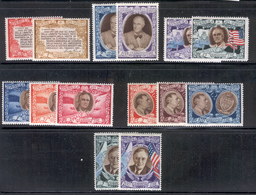 SAN MARINO 1947 FDR And Flags Scott Cat. No(s). 257A-257F & C51A-C51H MH - San Marino