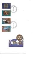 Rotary ( FDC Du Malawi De 1997 à Voir) - Rotary, Lions Club