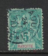 Mayotte - Yvert 4 Oblitéré D'ZAOUDZI - Scott#4 - Used Stamps