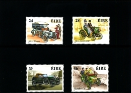 IRELAND/EIRE - 1989  CLASSIC IRISH CARS  SET MINT NH - 1949-... Repubblica D'Irlanda
