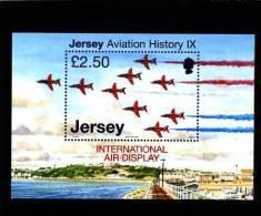 JERSEY - 2007  AVIATION HISTORY  MS   MINT NH - Jersey