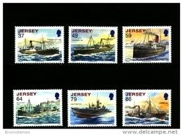 JERSEY - 2011  SHIPWRECKS  SET  MINT NH - Jersey